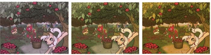 Как создать Осеннюю композицию с лошадками My Little Pony
