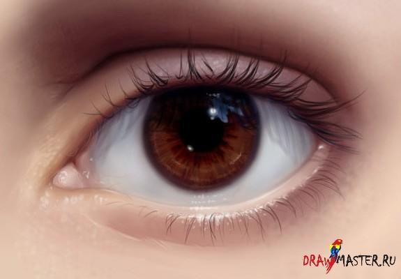 Как рисовать реалистичные глаза: http://www.drawmaster.ru/116-kak-risovat-realistichnye-glaza.html