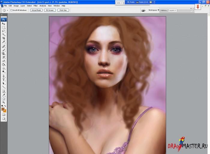 Волосы кудри фотошоп online - 93f