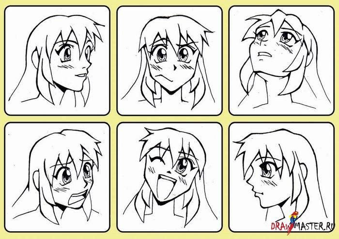 как рисовать приколы аниме и мангу - фото 9