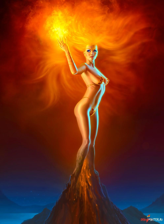 картины богинь:
