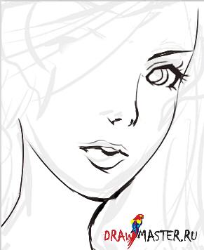 Как нарисовать девушку дракона