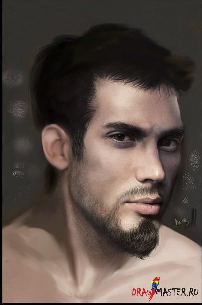Как нарисовать Бороду и