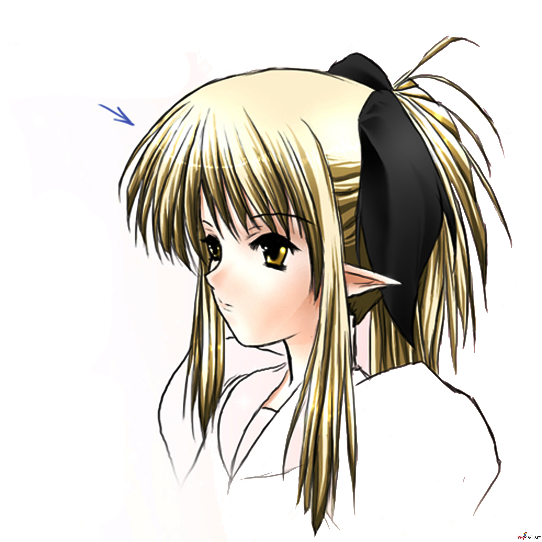 картинки нос аниме:
