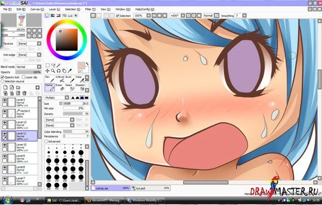 как рисовать аниме чиби: