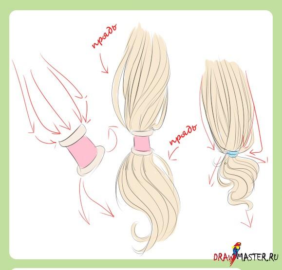 видеоурок фотошоп рисуем волосы