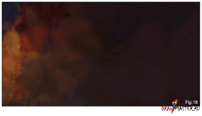Как рисовать туманность