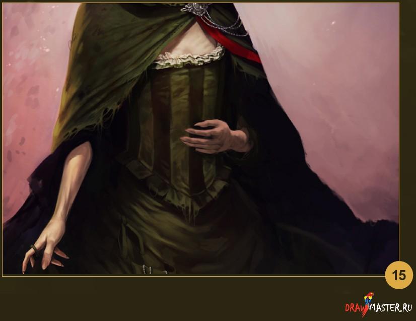 Рисуем портрет Персонажа