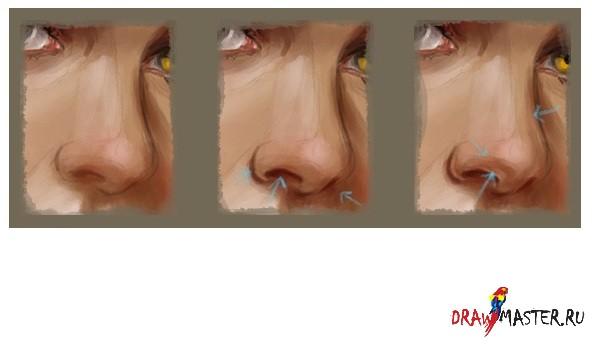 кисти для фотошопа нос: