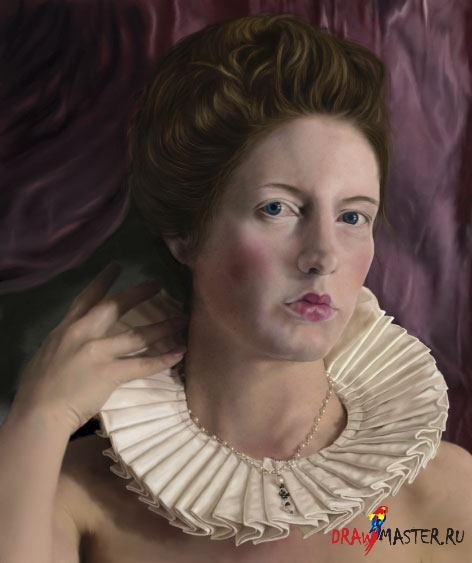 Как рисовать. уроки photoshop. королева. уроки рисования. портрет. настройк